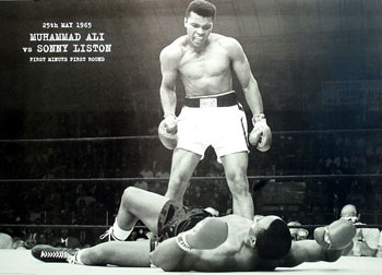 Historical sports photography Clay-liston